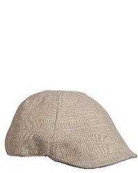 Beige Flat Cap