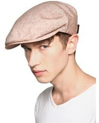 Borsalino Silk And Cotton Blend Flat Cap