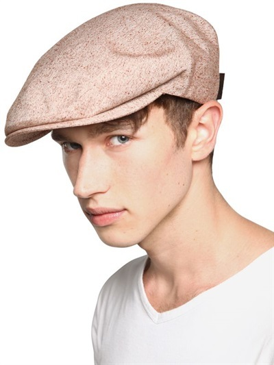 ... Borsalino Silk And Cotton Blend Flat Cap ... 166b1edc624