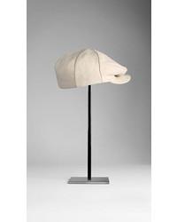 Burberry Linen Flat Cap