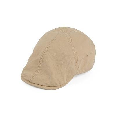 ... Timberland Hats Organic Cotton Duckbill Flat Cap Beige d615c61b7a42