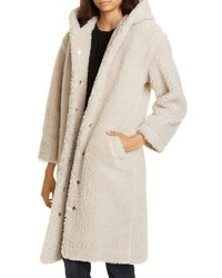 Beige Fleece Coat