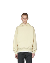 Essentials Off White Fleece Hoodie