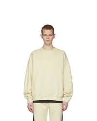 Beige Fleece Sweatshirt
