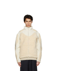 Gmbh Off White Hemp Fleece Jacket