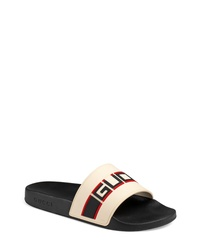 Gucci Pursuit Stripe Slide Sandal