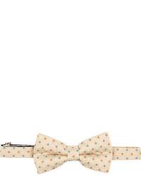 Yellow small floral print bow tie medium 310455