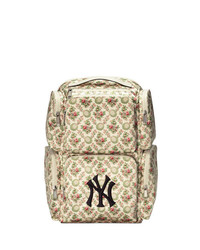 Gucci Large Backpack With Ny Yankees Patch