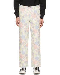 Noah Multicolor Canvas Recycled Work Trousers