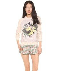 Floral sweatshirt medium 30868