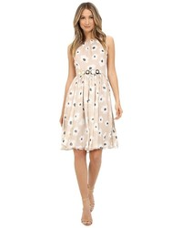 Kate Spade New York Faye Floral Belted Chiffon Dress