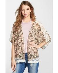 Coco Jameson Floral Print Kimono