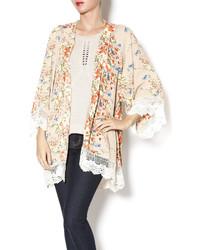 Umgee USA Printed Kimono