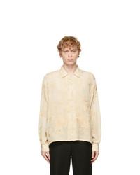 Bode Beige Embroidered Shirt