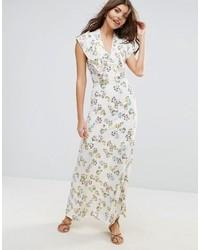 Liquorish Micro Floral Lined Maxi Dress