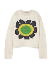 Opening Ceremony Intarsia Wool Blend Sweater