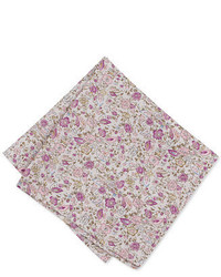 Bar III Antique Floral Pocket Square Created For Macys