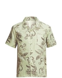 Honolua Lifestyle Floral Print Shirt Short Sleeve Shell
