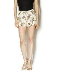 Ambiance apparel floral shorts medium 278248