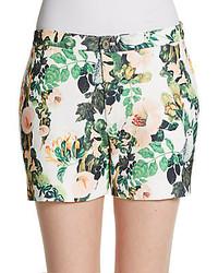 Floral print shorts medium 278250