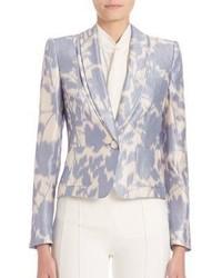 Floral print blazer medium 675267