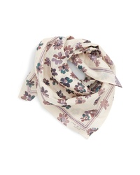Rag & Bone Floral Cotton Silk Scarf