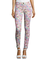 Nicole Miller Field Of Flowers Skinny Pants