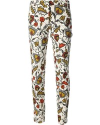 Incotex floral print trouser medium 175774