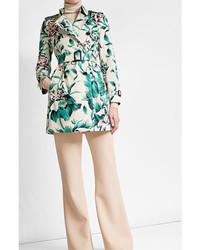 Printed cotton trench coat medium 5168390