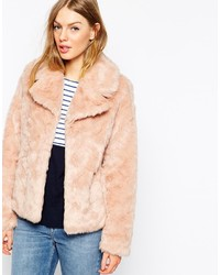 Faux fur coat medium 180014