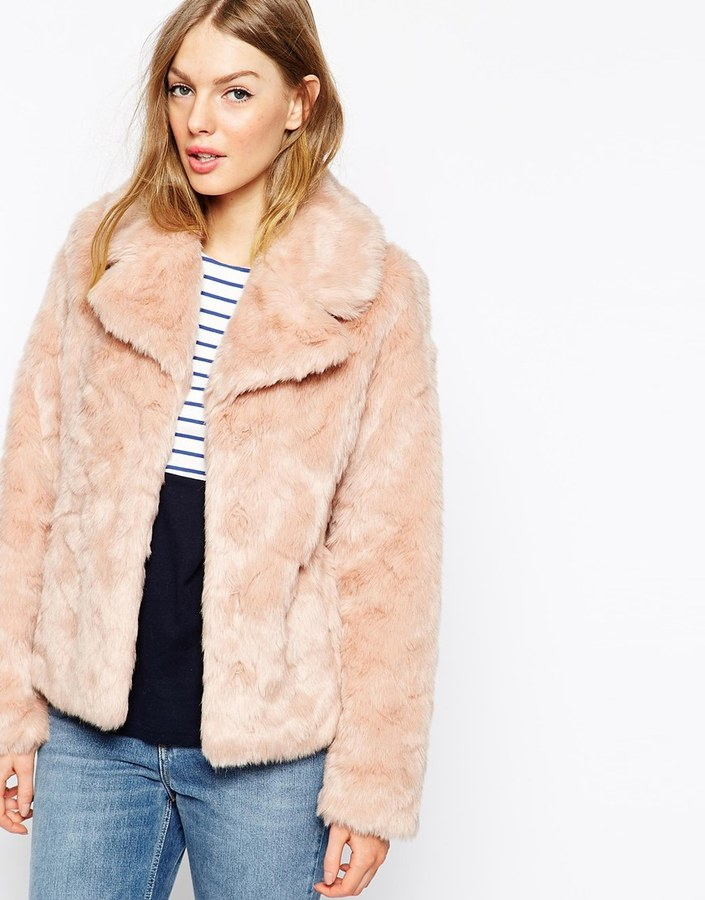 Oasis Faux Fur Coat   Where to buy &amp how to wear