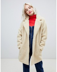 Only Teddy Oversized Coat