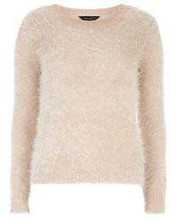 Dorothy perkins nude fluffy jumper medium 101448