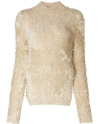 Fluffy turtleneck sweater medium 6843452