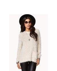 Forever 21 Speckled Fuzzy Sweater
