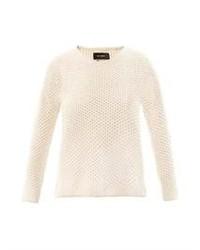 Isabel Marant Issac Waffle Knit Angora Sweater