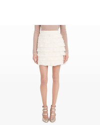 Club monaco fidelma feather skirt medium 1158748