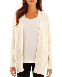 Long sleeve boyfriend cardigan sweater medium 217682