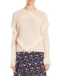 Tanya Taylor Cha Cha Fringe Sweater