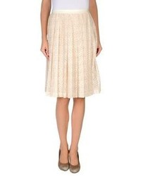Beige full skirt original 1480461