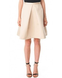 Tibi satin pleated full skirt medium 273941