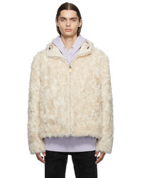 Givenchy Faux Fur Twill Jacket
