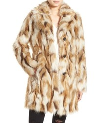 7 for all mankind faux fur coat medium 1248856