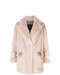 Blancha Boxy Mink Fur Coat