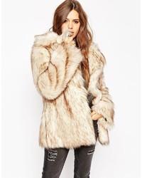 Asos Collection Vintage Faux Fur Coat