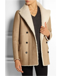Joseph Cadet Reversible Shearling Coat | Where to buy &amp how to wear