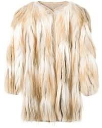 Liska Shaggy Coat