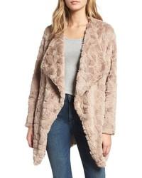 Tucker wubby faux fur coat medium 8652343