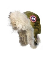 Aviator hat with genuine coyote medium 8697807