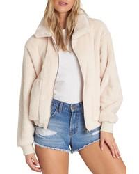 Billabong Always Cozy Faux Fur Jacket